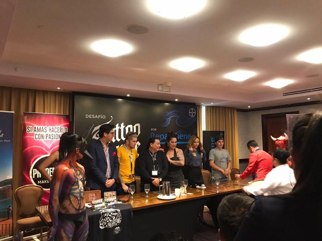 Bepanthene® de Bayer presente en la Expo Tattoo Guatemala 2020